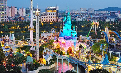 Lotte World Magic Island Outdoor Park