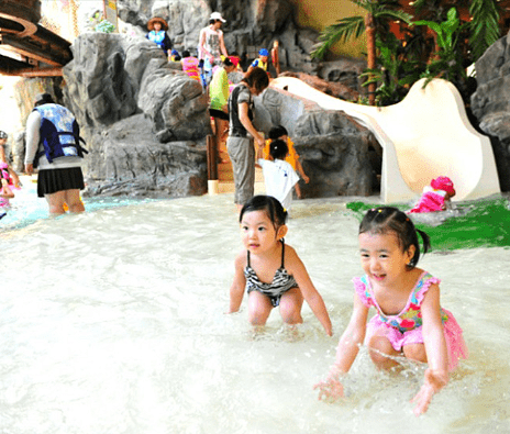 Caribbean Bay Water Park Korea Indoor Pool