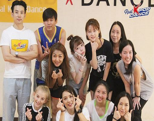 Real K-Pop Dance Class in Hongdae