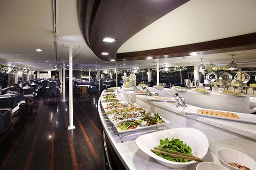 Hangang River Ferry Dinner Buffet Cruise_17