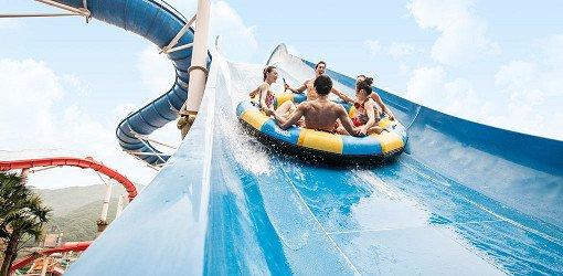 Ocean World Korea High Speed Slide