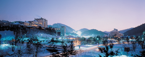 Yongpyong Resort Night View