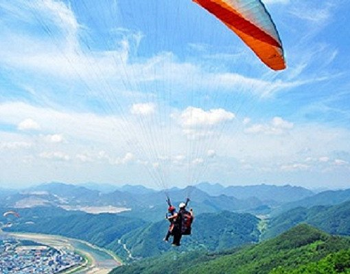 Danyang Paragliding Private Tour
