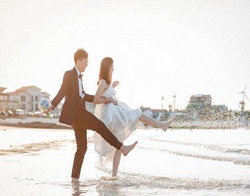 Jeju Pre Wedding Outdoor Photography