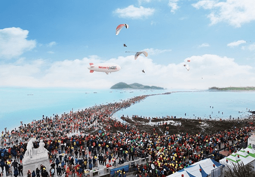 [From Seoul/Busan] 2019 Jindo Sea Parting Festival_1