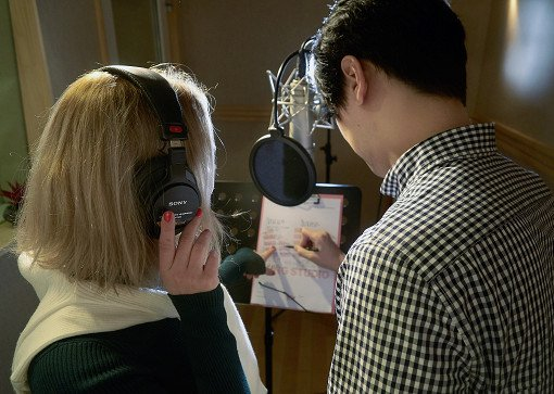 K-Pop Recording In Studio_6