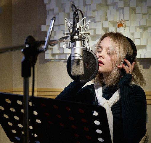 K-Pop Recording In Studio