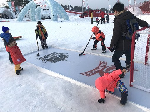 Daemyung Vivaldi Ski Resort Snowyland Winter Games