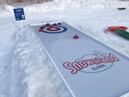 daemyung vivaldi park snowyland mini ice hockey