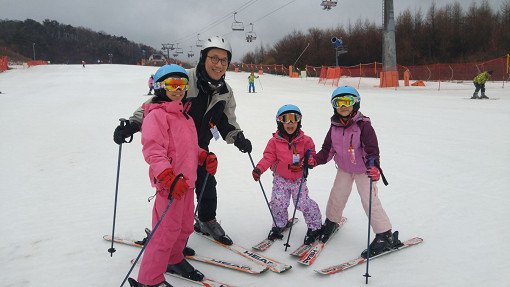 [Basic+Private Lesson] Vivaldi Park 1Day Ski or Snowboard Tour