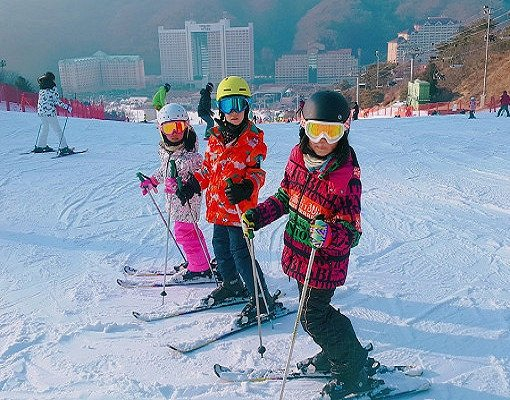 Half Day Ski Lesson Tour at Konjiam Resort_0