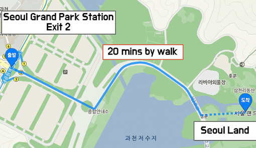 Seoul Land Map