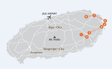 East Jeju One Day Bus Tour Package