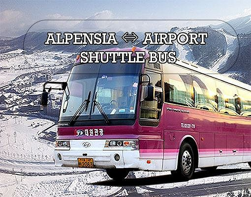 [Purple Bus] Gimpo Airport to/from Alpensia Resort Shuttle Bus_0