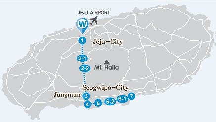 South Jeju One Day Bus Tour Package