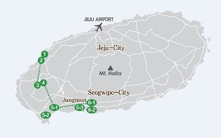 West Jeju One Day Bus Tour Package