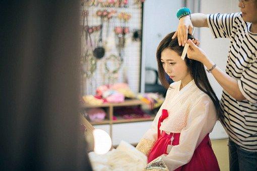 hanbok studio photoshoot
