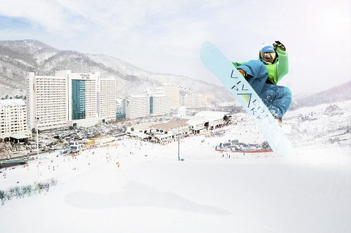 Korea winter season snow, ski, snowboard tour ticket guide_0