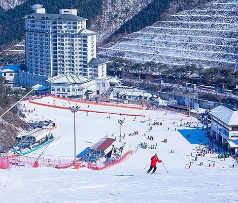 Korea Elysian Gangchon Ski View