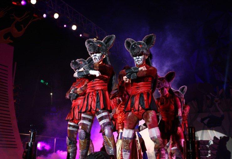 animal kingdom performance show at Seoul land Korea