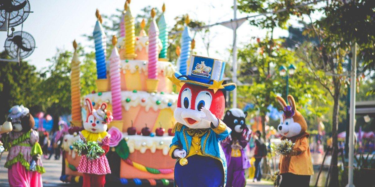 Dream World Диснейленд Бангкок