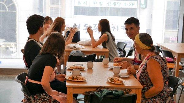Kimchi Making Tteokbokki Class and Hanbok Experience