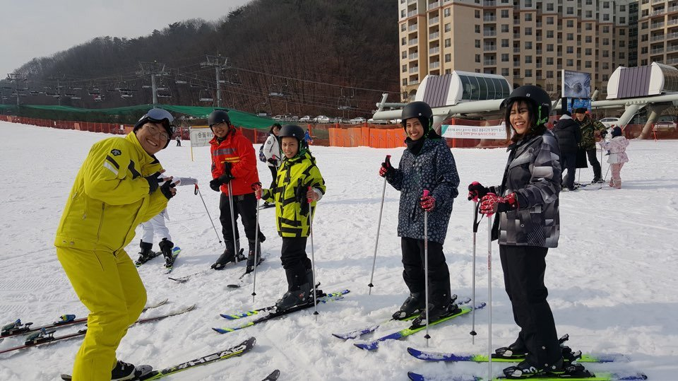 daemyung vivaldi park ski group lesson