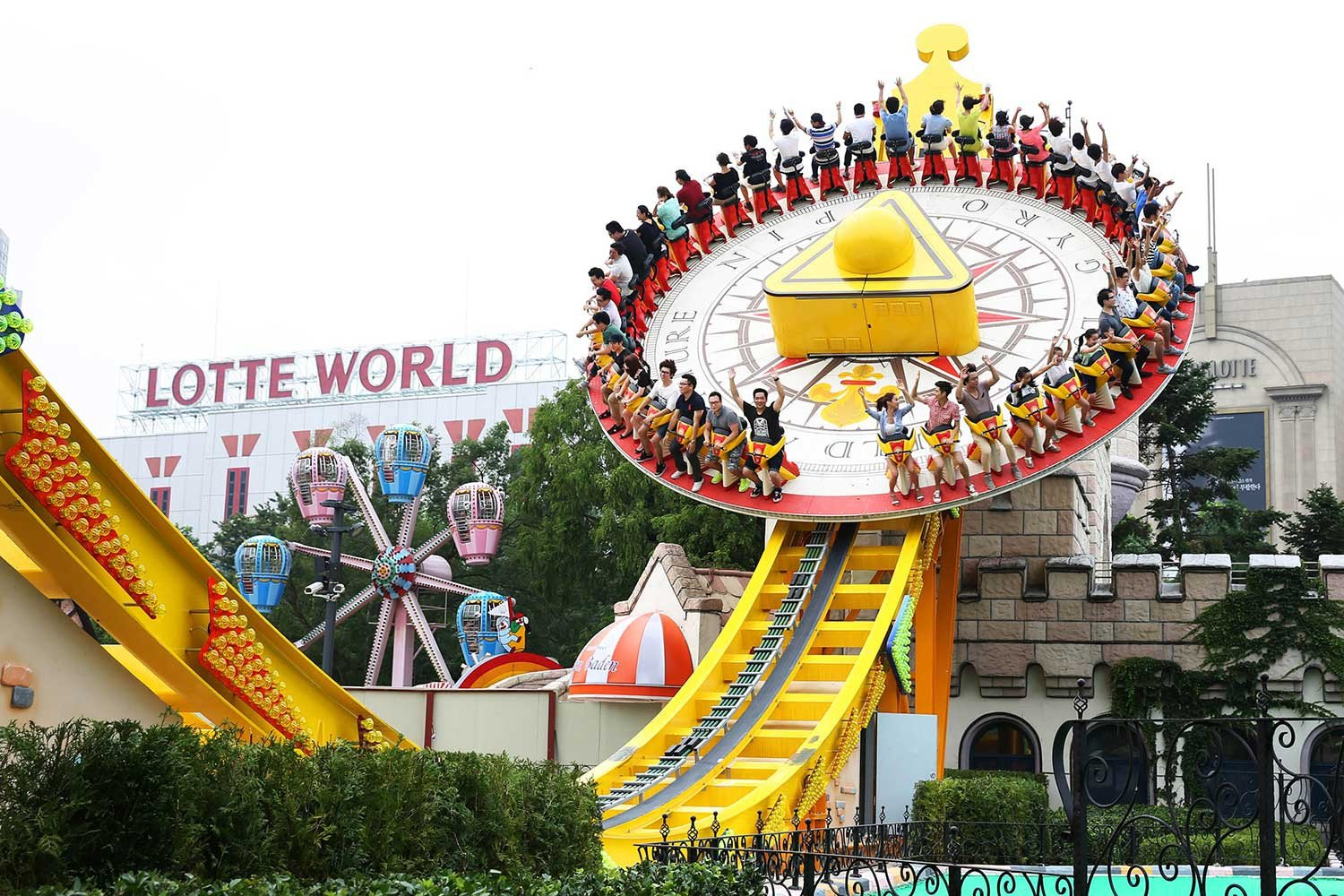 Lotte World Discount Ticket Rides Attractions