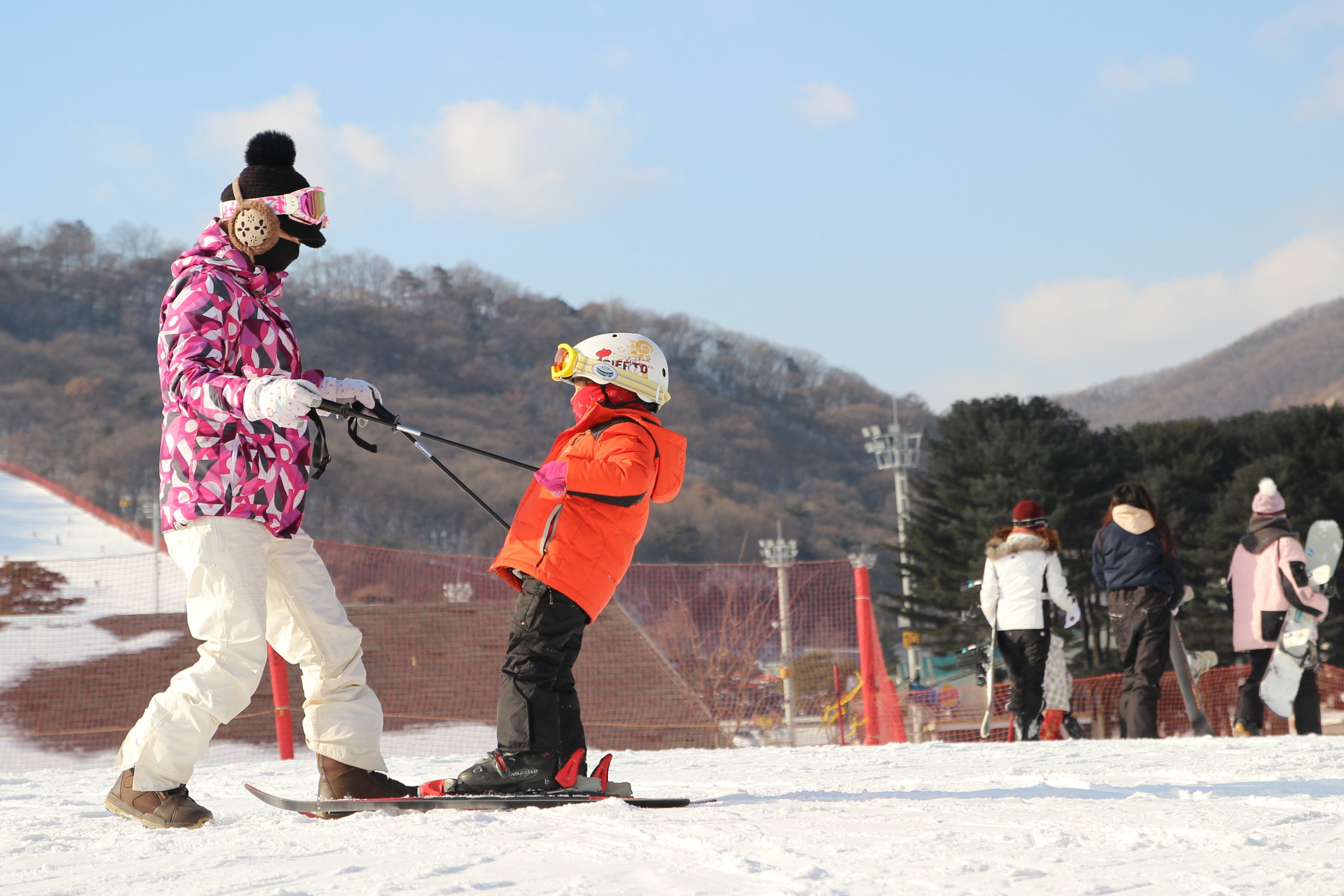 Jisan Forest Ski Resort Lesson