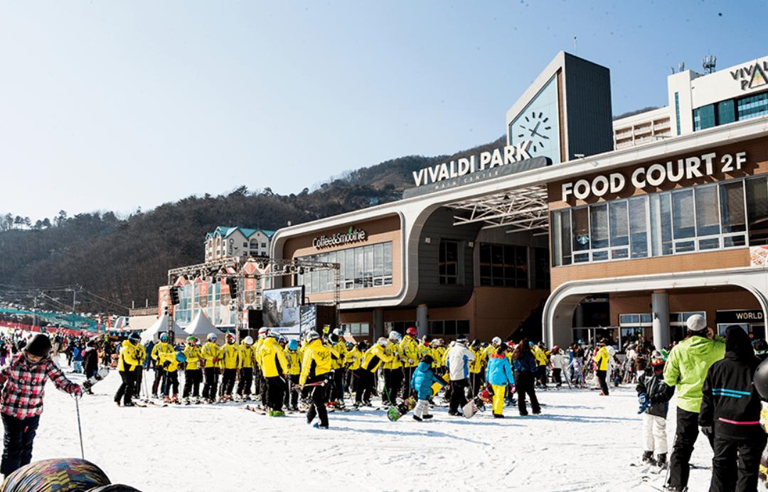 Daemyung Vivaldi Resort Ski