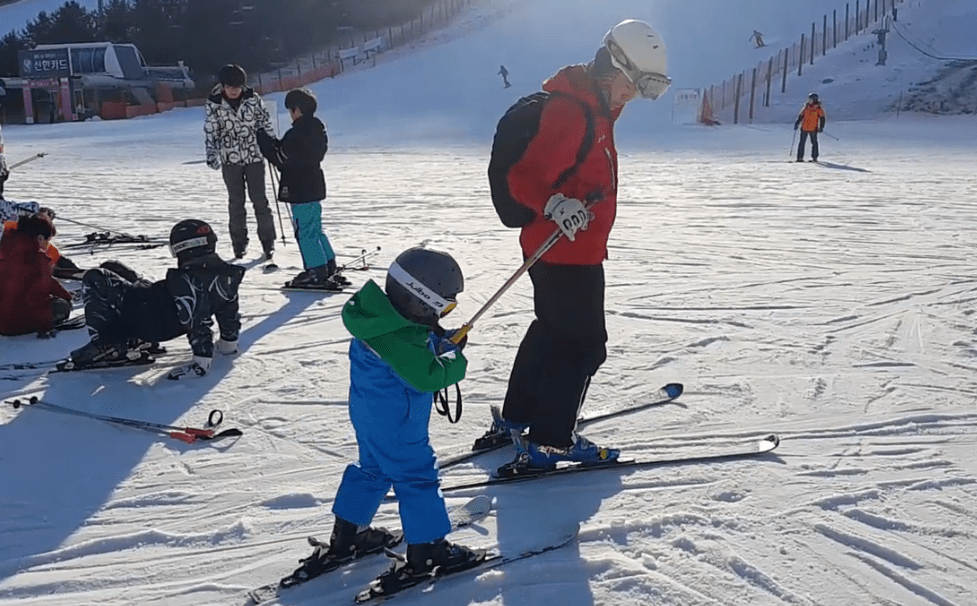 Alpensia Resort Korea Private Ski Lesson Child