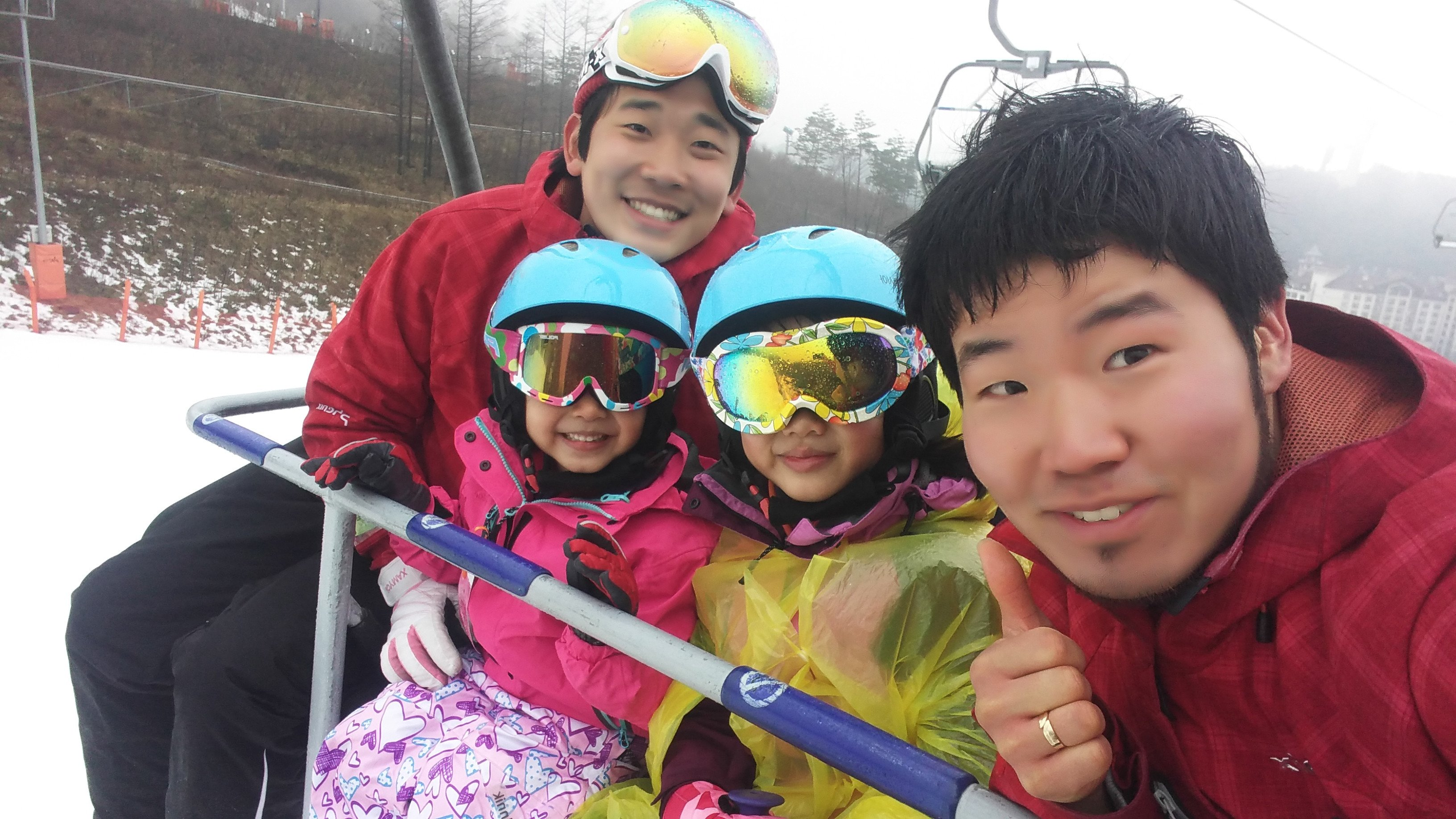 Ski lift Alpensia Ski Resort Korea