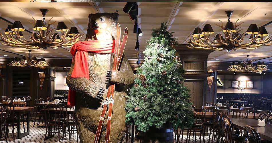 Bears Town Ski Resort Cafeteria