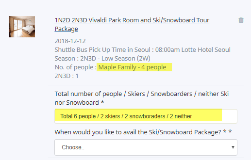 how to book vivaldi park ski resort accommodation