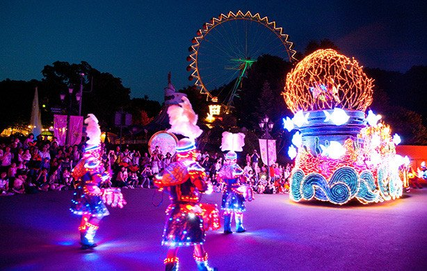 Everland Discount Ticket Night View Parade