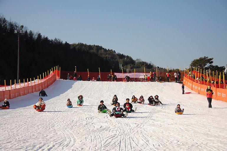 Korea Elysian Gangchon Kids Snow Sled