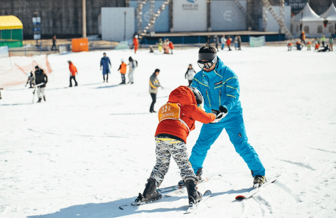 Korea Elysian Gangchon Ski Snowboard Lesson