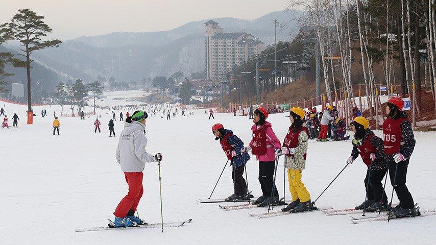oak valley ski resort ski package lesson