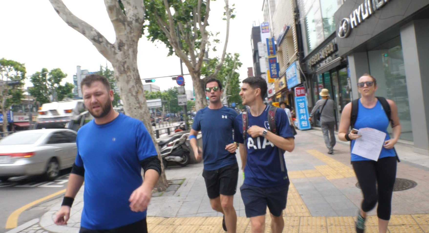 Mission Run in Seoul