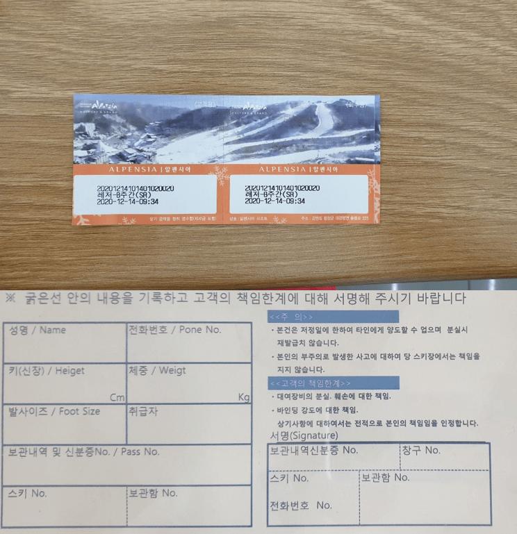 Alpensia Resort Ski Snowboard Full Rental Package (Gear, Lift Ticket)